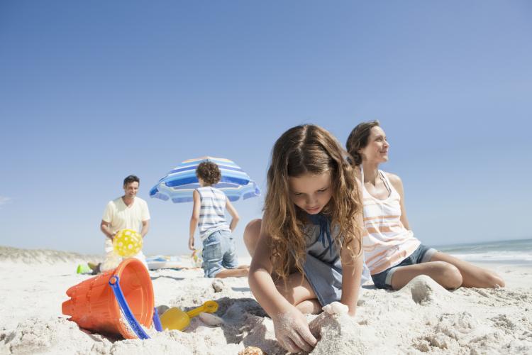 wakacje z dziećmi nad morzem