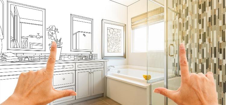 Etapy Remontu łazienki Biały Montaż I Malowanie Płytek